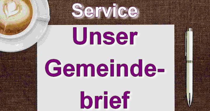 Service | Unser Gemeindebrief